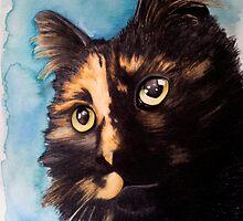 Abbey - Watercolour prints by Lauren Eldridge-Murray