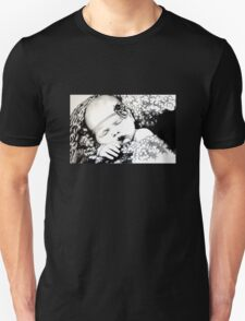 My Daughter, Grace - charcoal portrait, clothing, stickers, iphone case T-Shirt