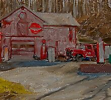 Old Garage by DonaldCole