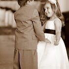 Flower Girl and Ring Bearer Try a Dance by mhm710
