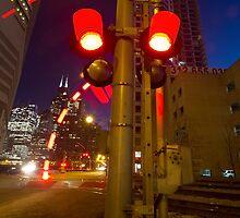 Train lights by Sven Brogren