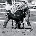 Wild Cow Milking by AZLiane