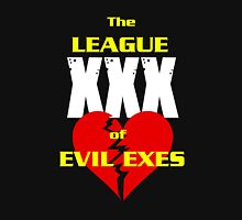 League of Evil Exes Womens Fitted T-Shirt