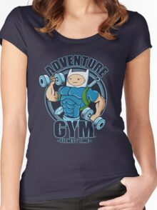 ADVENTURE GYM Women's Fitted Scoop T-Shirt