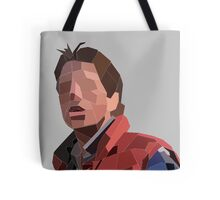 Marty Mcfly Polygons Tote Bag