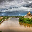 Sarawak River sunrise vista by Gavin Poh