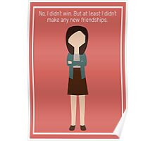 """April Ludgate: """"New Friendships"""" Poster"""