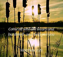 Matthew 11:28 by Pietrina Elena Photography