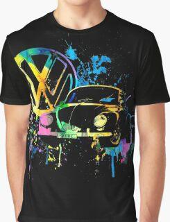 Volkswagen Beetle Splash © Graphic T-Shirt
