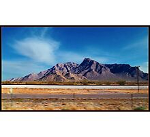 Arizona - On The Fly Photographic Print