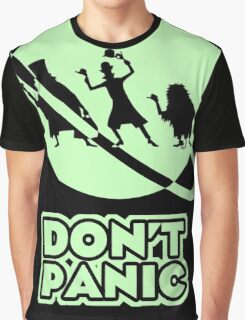 Hitchhiker's Guide to the Haunted Mansion Graphic T-Shirt