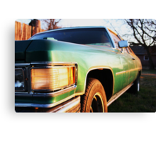 Deville at Sunset Canvas Print