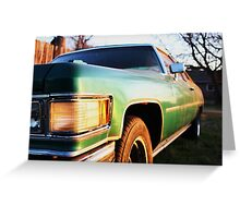 Deville at Sunset Greeting Card