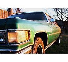 Deville at Sunset Photographic Print