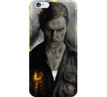 True Detective - Rust Cohle old  iPhone Case/Skin