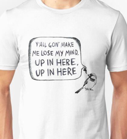 Where My Birds At? Unisex T-Shirt