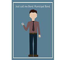 "Ben Wyatt: ""Municipal Bond"" Photographic Print"