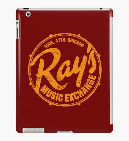 Ray's Music Exchange (worn look) iPad Case/Skin