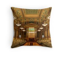 Corinthian Hall - The Masonic Temple Throw Pillow