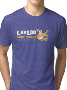 Lee Loo's Surf Shack Tri-blend T-Shirt