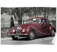 Bristol 400 1948 Poster