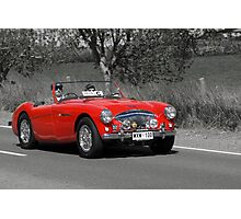 Austin Healey Le Mans 1955 Photographic Print