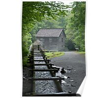 Old Grain Mill Poster