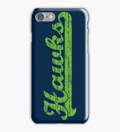 Hawks Vintage iPhone Case/Skin