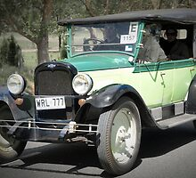 Chevrolet Capitol 1927 by Geoffrey Higges