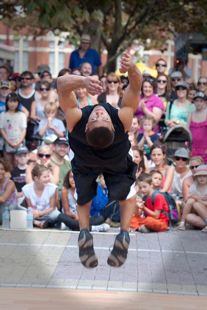USA Breakdancers by Darren Speedie
