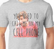 Zack Morris Cell Phone Unisex T-Shirt