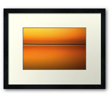 inlet light. inverloch, victoria Framed Print