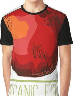 hand drawn vintage illustration of pomergranate Graphic T-Shirt
