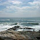 At the end of Conanicut Island, Rhode Island by Jane Neill-Hancock