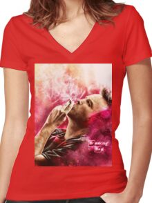 Breaking Bad - Jesse Pinkman Women's Fitted V-Neck T-Shirt