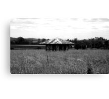 forgotten shed Canvas Print