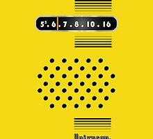 Transistor Radio - 70's Yellow by ubiquitoid