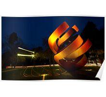 Sculpture - Adelaide, SA Poster