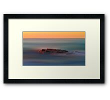 Rock of Inspiration Framed Print