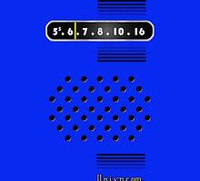 Transistor Radio - 70's Blue by ubiquitoid