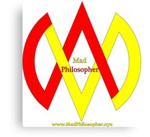 MadPhilosopher Branded Merch Canvas Print