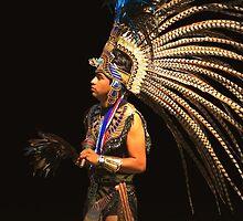 Aztec Dancer Iphone Case by Gene Praag