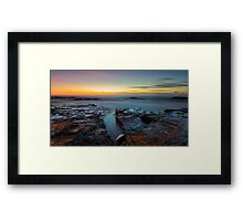 Red Rock Gully Framed Print