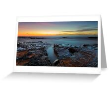Red Rock Gully Greeting Card