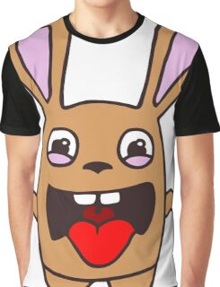 rabbit lapin funny cartoon Graphic T-Shirt