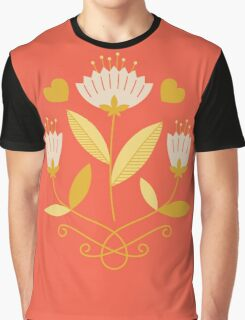 flowers everywhere/3 Graphic T-Shirt