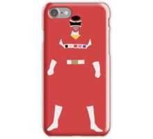 Power Rangers in Space Red Ranger iPhone Case/Skin