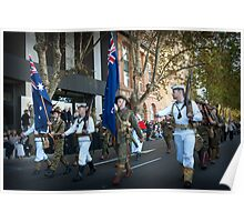 Anzac Day March Poster