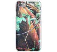 rainforest floor, soft pastel iPhone Case/Skin