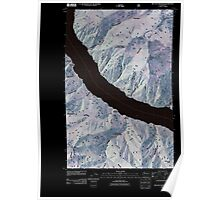 USGS Topo Map Washington State WA Big Goat Mountain 20110427 TM Inverted Poster
